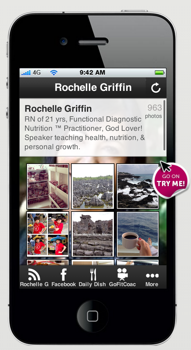 Grab the FREE Rochelle Griffin Mobile App NOW